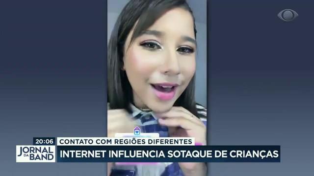 Internet influencia sotaque das crianças