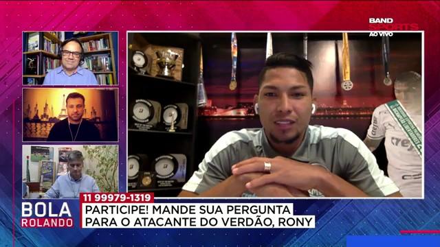 """""""Estou vivendo um grande sonho no Palmeiras"""", destaca Rony"""