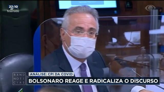 Para cientista político, radicalização de Bolsonaro é reação à CPI