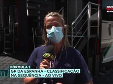 """Mariana Becker conta quem é a """"loira misteriosa"""" vista com Hamilton"""