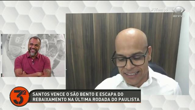 TERCEIRO TEMPO CONVERSA COM ROBERT SOBRE ATUAL SITUAÇÃO DO SANTOS