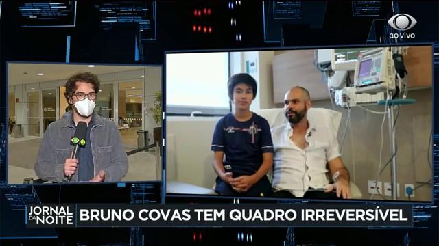 Bruno Covas tem quadro de saúde irreversível, diz boletim médico