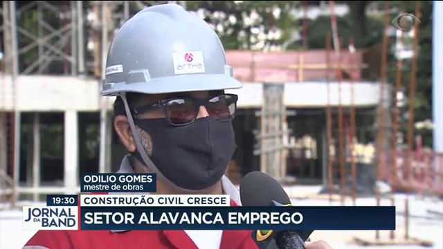 Construção civil cresce e alavanca emprego
