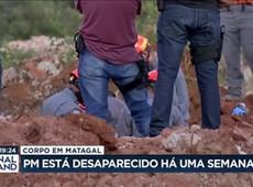 Polícia encontra corpo em matagal que pode ser de soldado desaparecido