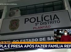 Dupla é presa após fazer família refém no interior de São Paulo