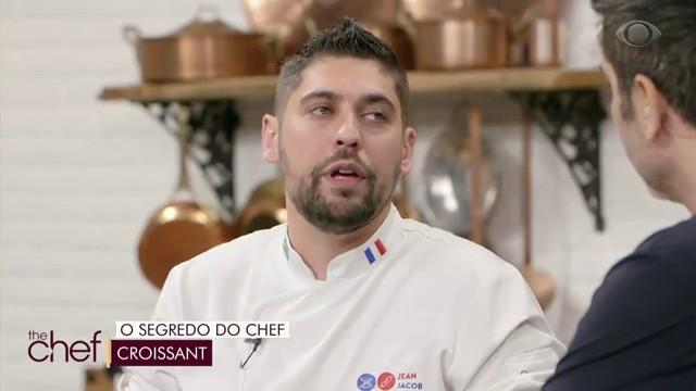 Edu Guedes recebe chef Francês Jean Jacob