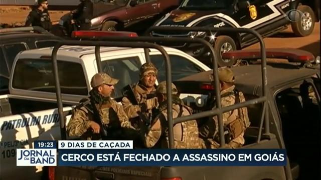 Cerco fechado a assassino em Goiás