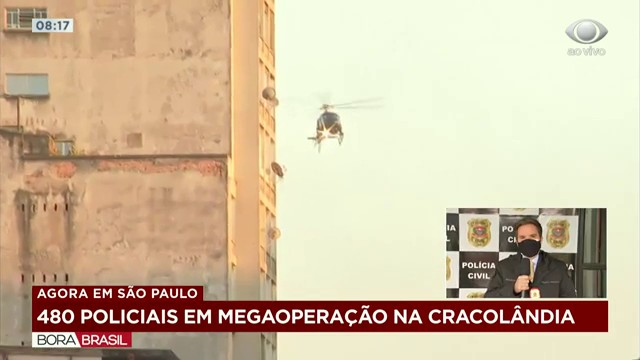 Polícia Civil realiza megaoperação com 480 agentes em São Paulo