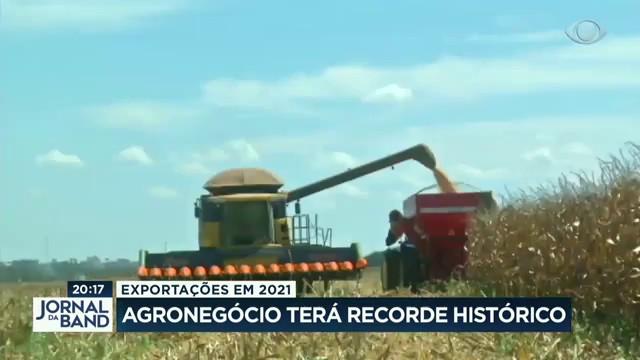 Exportações em 2021: agronegócio terá recorde histórico