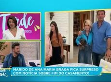 Ex de Ana Maria Braga desmente ter maltratado funcionários