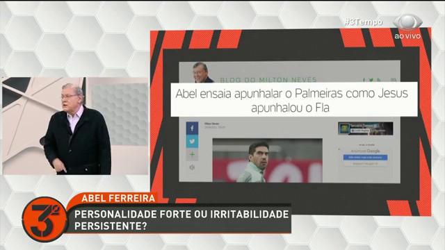 Terceiro Tempo debate a treta entre Abel Ferreira e Galiotte