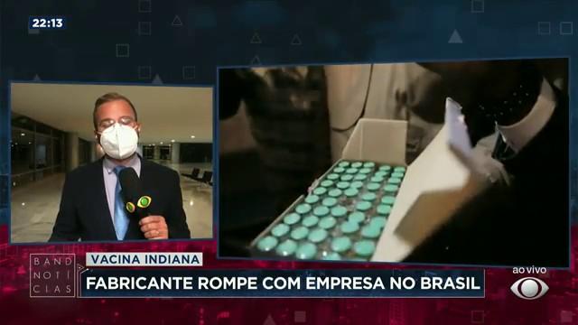 Fabricante da Covaxin rompe contrato com a Precisa Medicamentos