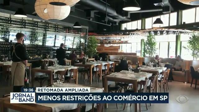 Retomada ampliada: menos restrições ao comércio em São Paulo