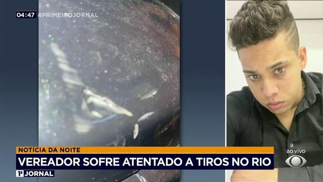 Vereador diz que sofreu atentado no Rio de Janeiro