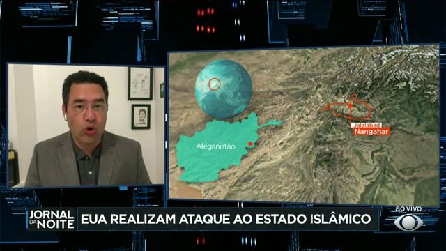 EUA realizam ataque contra alvo do Estado Islâmico no Afeganistão