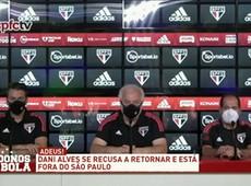 DANIEL ALVES SE RECUSA A RETORNAR E ESTÁ FORA DO SÃO PAULO!