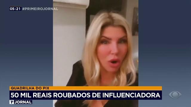 Íris Stefanelli tem 50 mil reais roubados em golpe