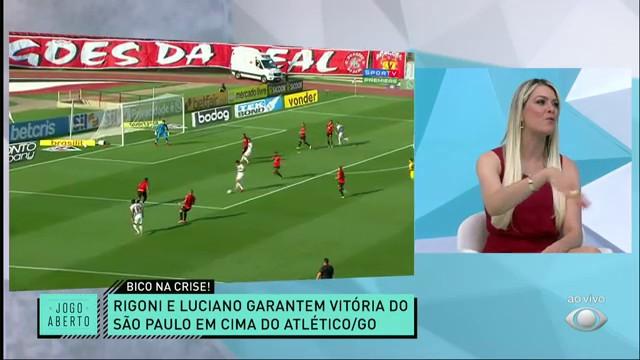 XÔ, CRISE! Rigoni e Luciano marcam na vitória do São Paulo