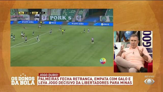 """""""POSTURA DE TIME PEQUENO"""", OPINA CANHÃO SOBRE PALMEIRAS DE ABEL"""