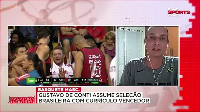 """""""A Seleção Brasileira de basquete está no caminho certo"""", diz Cadum"""