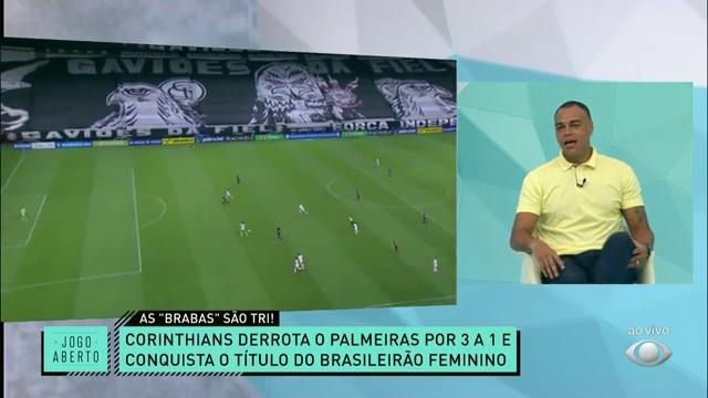 AS BRABAS SÃO TRI! As meninas do Corinthians conquistam o Brasileirão