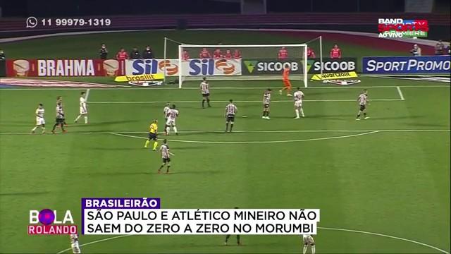 """""""O Atlético Mineiro poderia ter saído do Morumbi com os três pontos"""""""