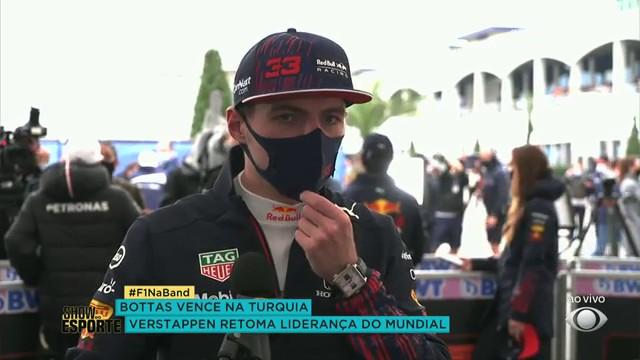 Veja a entrevista de Max Verstappen após o GP da Turquia