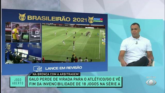 GALO NA BRONCA! Atlético-MG perde com polêmica de arbitragem