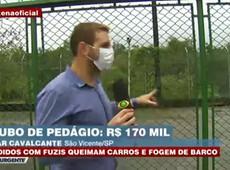 170 MIL REAIS ROUBADOS DE PEDÁGIO