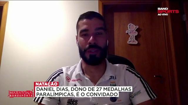 """Daniel Dias: """"O Brasil pode ficar entre os cinco melhores do mundo"""""""